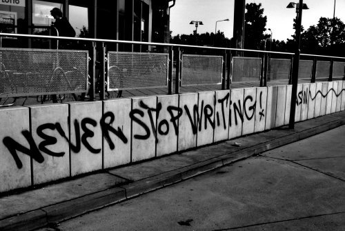never-stop-writing